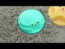 Learn Colors for Children Sand Molds cherepaha Finger Family