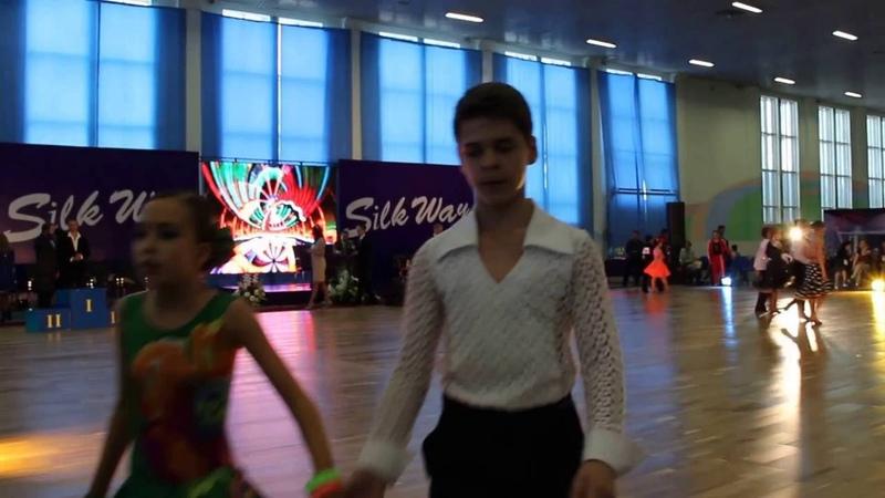 Джайв Фестиваль спортивных бальных танцев Silk Way 2015 Астана