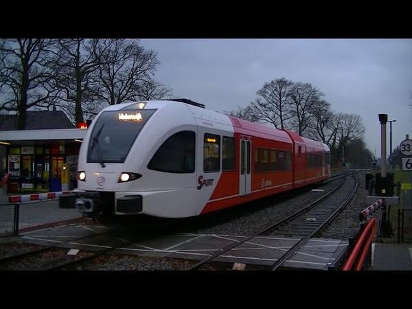 Spoorwegovergang Lichtenvoorde-Groenlo Dutch railroad crossing