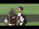 【OSK Revue】Yuito Toudou| First-pitch ceremony on Eagles| 18/08/2016