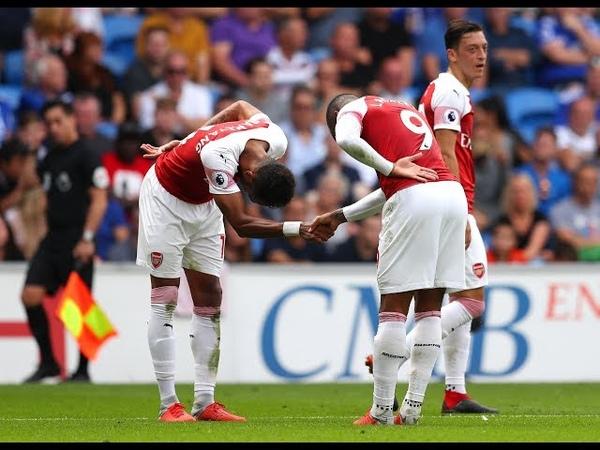 Cardiff 2 3 Arsenal Match Review Aubameyang Lacazette Both Score