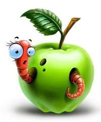 ...яблоко и увидеть там половину червяка, - ответил мудрец.