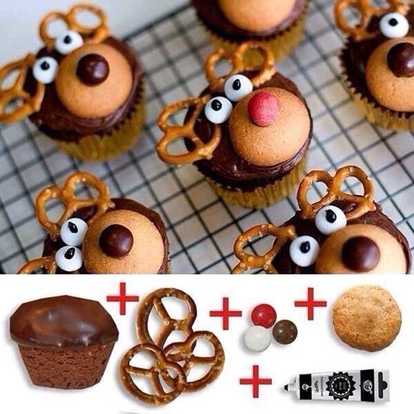 Как легко и просто украсить кексы