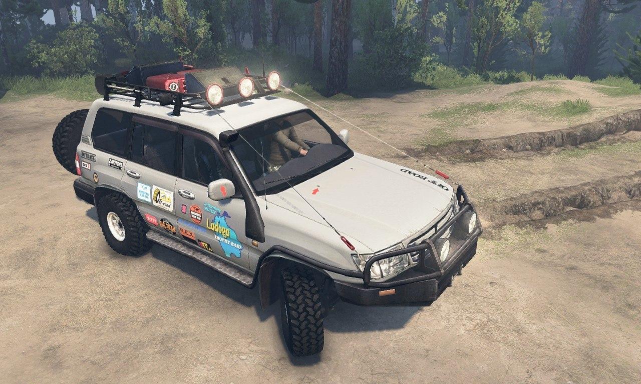 Toyota Land Cruiser 105 для 25.12.15 для Spintires - Скриншот 1