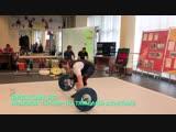 Щеглова Виолетта, соревнования по тяжелой атлетике