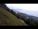 Иверская гора. Крепость Анакопия. Панорама Нового Афона