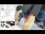 Замёрзшие ягоды Дизайн ногтей DIY Nail Зимний маникюр Patrisa Nail