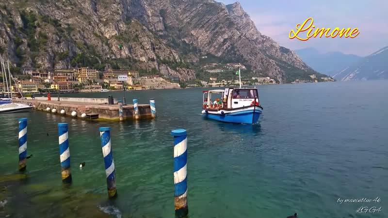 Italy, Lake Garda, Limone 4k, LG G4