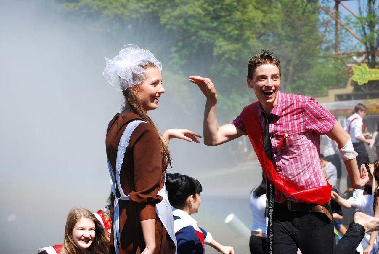 Последний звонок 2012, Луганск