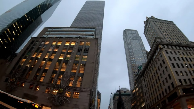 ⁴ᴷ⁶⁰ Walking NYC (Narrated) Fifth Avenue from 60th Street to 23rd Street (Flatiron Building)