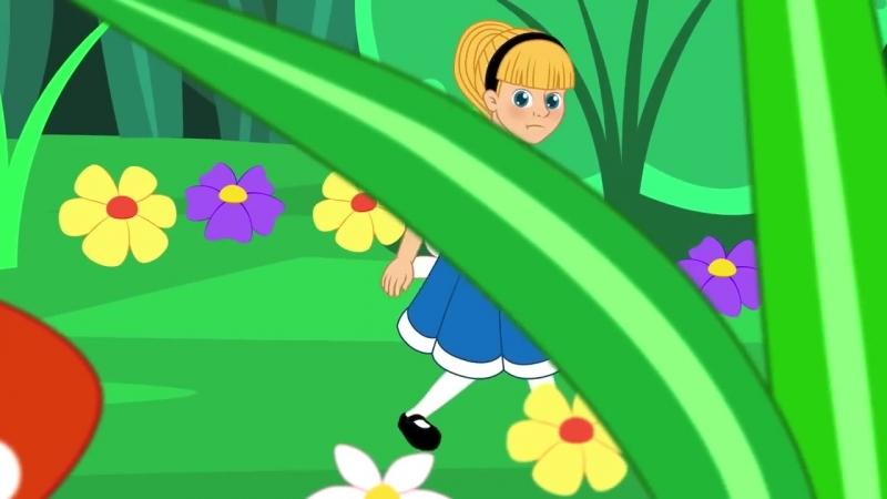 Алиса в Стране чудес - Мультфильм - сказки для детей - сказка