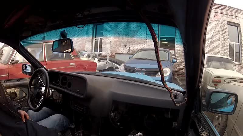 Первый выезд из гаража М2140