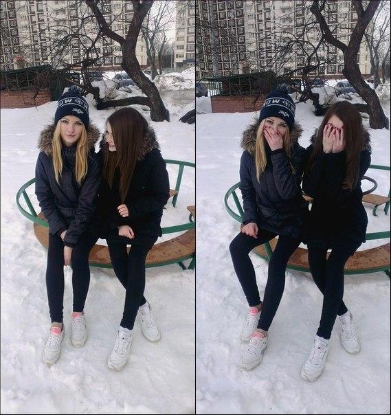 Арбенина по белому снегу