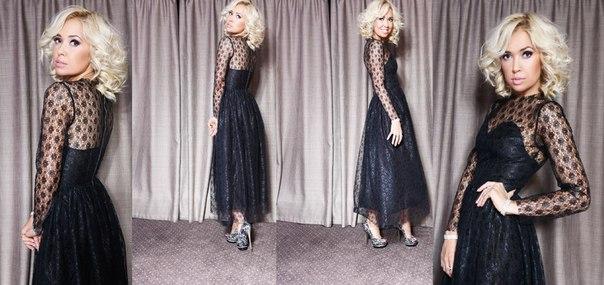 Платья из гипюра и кружева фото 2015