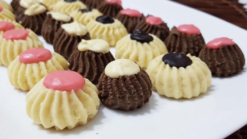 100 Pastane Kurabiyesi Tarifi-Ağızda Kum Gibi Dağılan Harika Papatya kurabiye