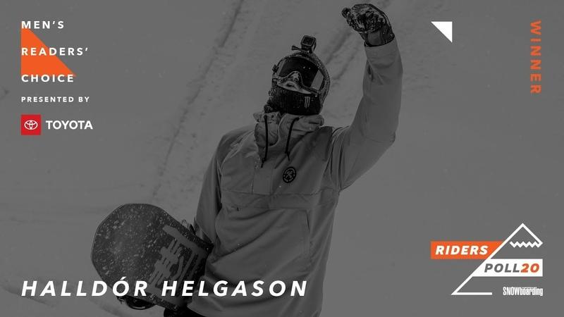 Halldór Helgason: Men's Readers' Choice Award Presented by Toyota —TransWorld Riders' Poll 20