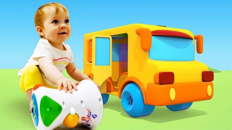 Çizgi film. Güzel oyuncaklar 1. Davul. Renkleri öğreniyoruz