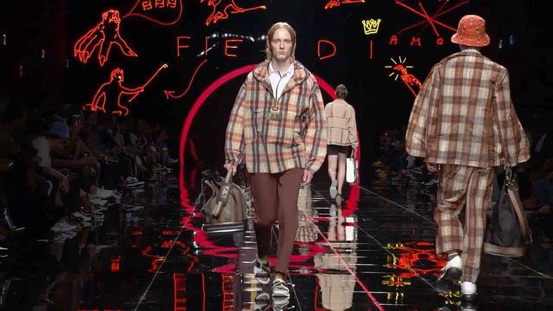 Fendi | Spring Summer 2019 Full Fashion Show | Menswear