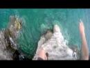 GoPro. Cliff diving Budva, Montenegro