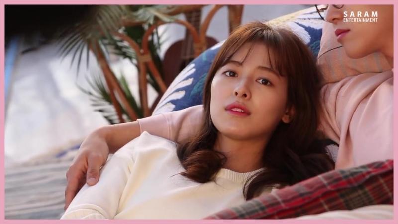 [배우 지우 Ji Woo] 지우랑 소풍가자 in 메디힐 광고 촬영 현장