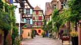 Riquewihr, Alsace, France in 4K Ultra HD