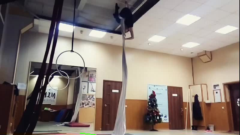 Vera Mint Aerial Silks