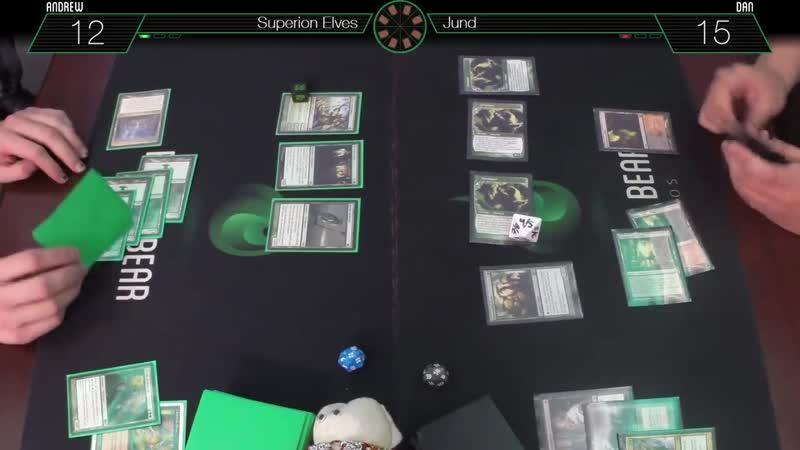 MtG Modern Wheel of Fate - Superion Elves VS Jund