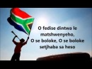 Nkosi Sikelel' iAfrika south african national anthem with lyrics Inno nazionale sudafricano