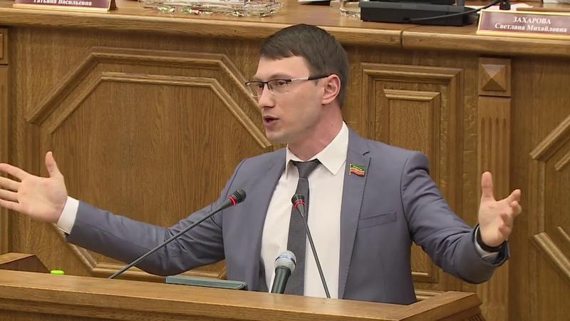 Выступление депутата Артёма Прокофьева против повышения пенсионного возраста.