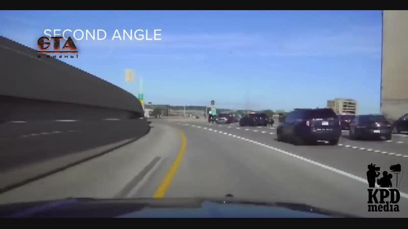 Подозреваемый сбит полицейской машиной при попытке к бегствуЖЕСТЬкаконаЕСТЬ