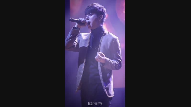 FANCAM 18 11 18 B A P 'FOREVER' TOUR Atlanta Daehyun Baby