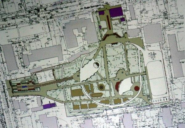 Предлагаемая планировка парка