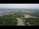 China Changde Suburb Aerial footage, 中国常德郊区航拍 4K