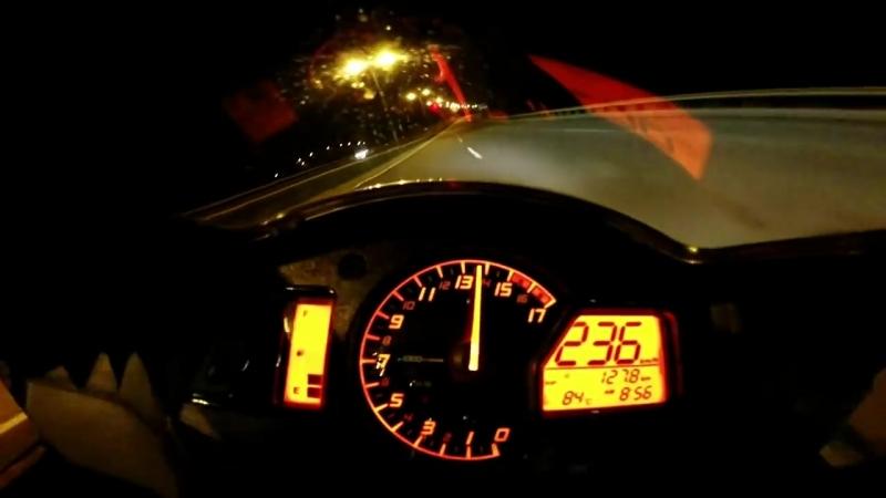 CBR 600RR Acceleration