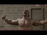 Crossfit Workout - Back Flip, Rope Climb, Box Jump by 240LB body builder JOEY SWOLL! CrossFIT 2014?