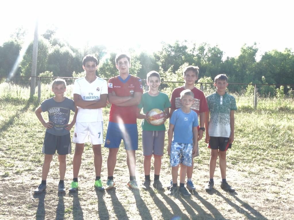 В сельских поселениях Рязанской области проходят любительские матчи по футболу