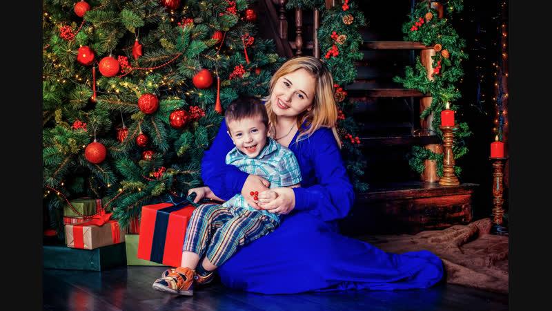 Открываем новогодний сезон 2018-2019 с Юлечкой, Елисеем и Ксюшей в Fotolumen! :)