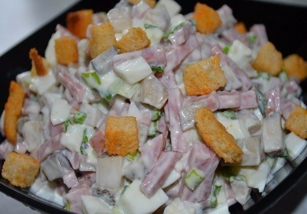 Новые рецепты салатов никогда не помешают