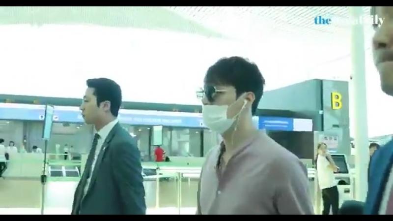 [BIG영상][4K] 박유천JYJ 인천공항 출국 현장 -