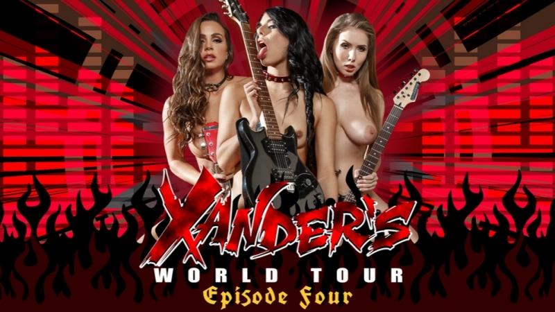 Xanders World Tour Ep. 4 Trailer Abigail Mac Gina Valentina Lena Paul Xander