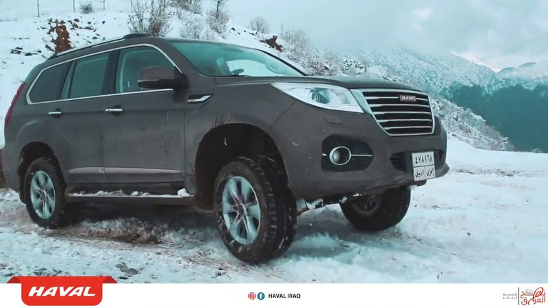 Haval H9 successfully reached the summit of Kurdish Mountain in Northern Iraq!