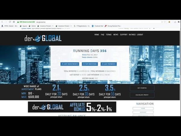 2 1% ежедневно в течении 45 дней Обзор и Первый Депозит от Investors