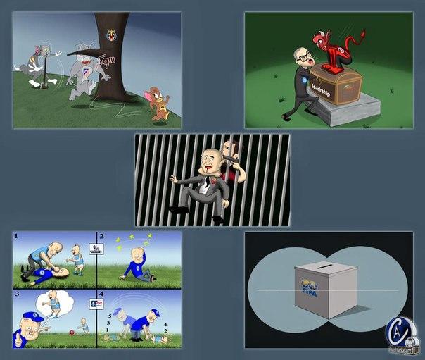 Футбольная неделя в карикатуре