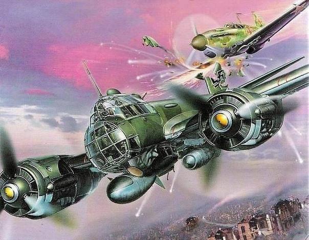 Герои воздушных таранов первого дня войны