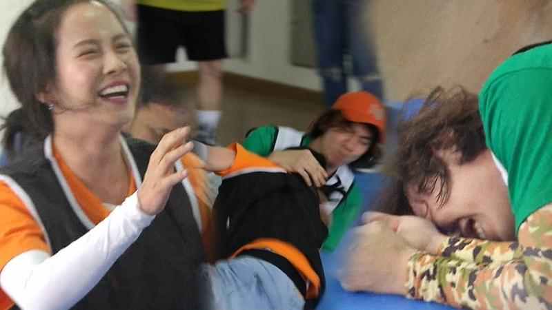 이광수·송지효 제대로 피 터지는 개싸움 '현실 남매' 《Running Man》런닝맨 EP493