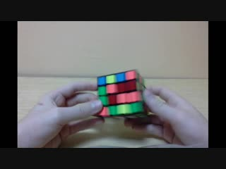 1 часть обучение сборки кубика 4x4