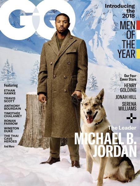 Michael B. Jordan GQ, 2018