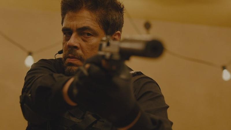 Бенисио Дель Торо - Отрывок из фильма ''Убийца (Sicario) (2015)