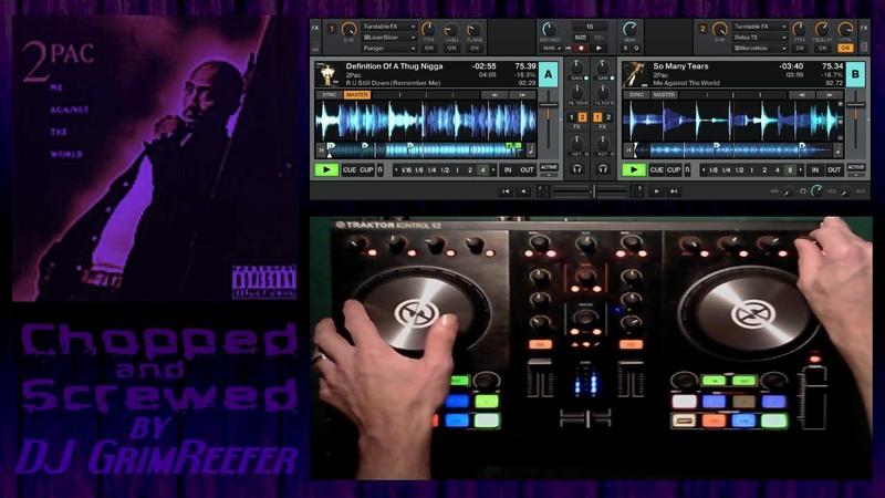 R.I.P. 2Pac Mix (Chopped Screwed) by DJ Grim Reefer
