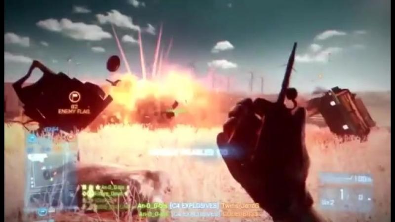 Battlefield 4 -- Epic explode